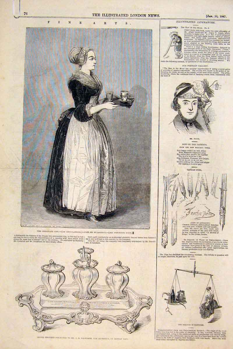 Print Fine Art 1847 Society British Artists 76Amaa0 Old Original