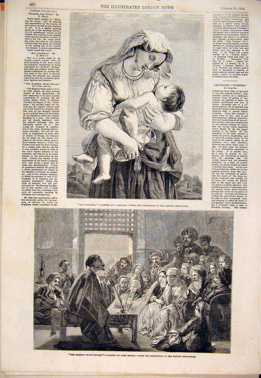 Print Brocky Lady Baby Smyth Story Teller Hall Covey Claude 60Amaa0 Old Original