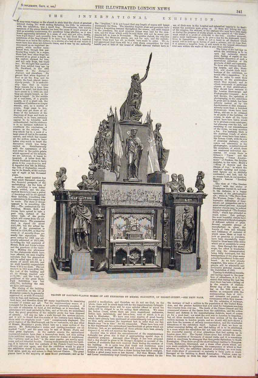 Print Trophy Galvano Plastic Elkington Furniture Pulpit Stove 41Amaa1 Old Original
