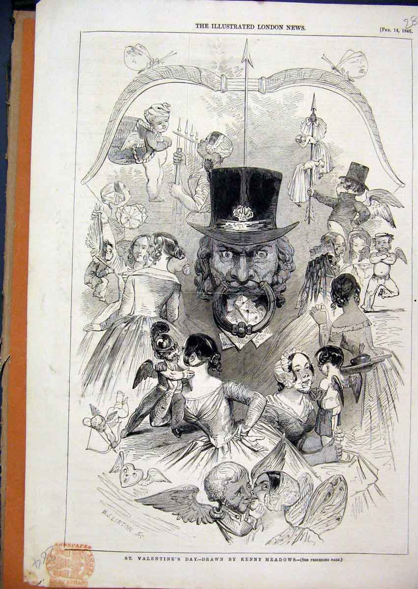 Print 1862 Fatal Accident Hartley Colliery Removal Coffins 85Mar1 Old Original