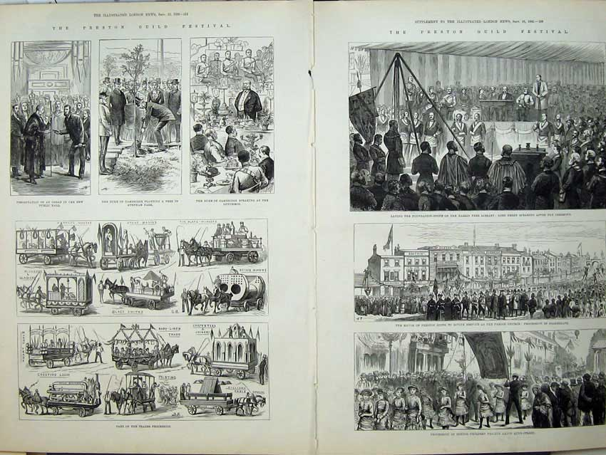 [Print War Egypt Railway Embankment 1882 Fort Royal Port Said 532An152 Old Original]