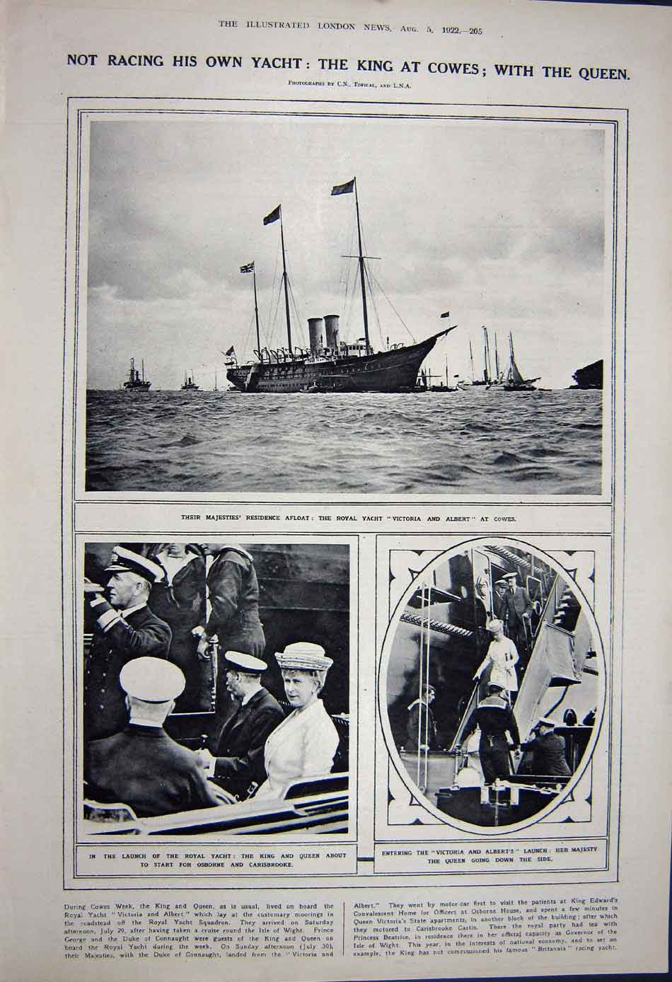 [Print 1922 War Ypres Soldiers Collins Ireland Victoria Ship 471Rn312 Old Original]