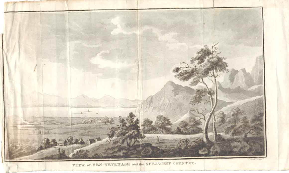 [Print View Ben Yevenagh Scotland C1790 J Lord Sculp 014551 Old Original]