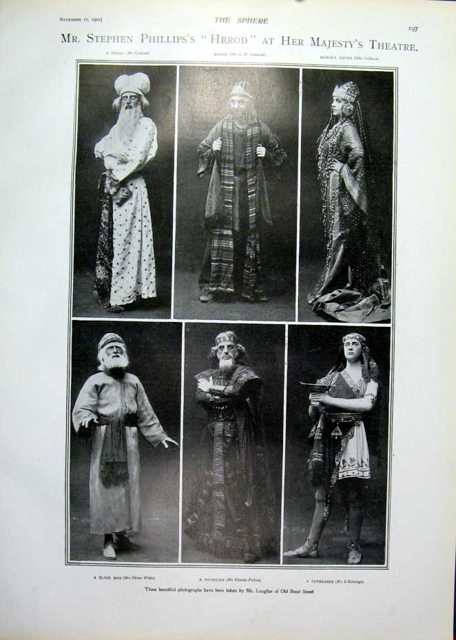 [Print The Swashbuckler New P[Lay Duke York'S Theatre1900 975401 Old Original]