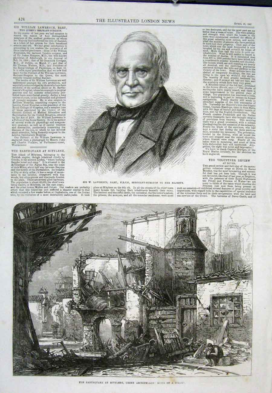 Print Morgan Punish Pall Mall Exhibition Art 1867 02Aaa0 Old Original