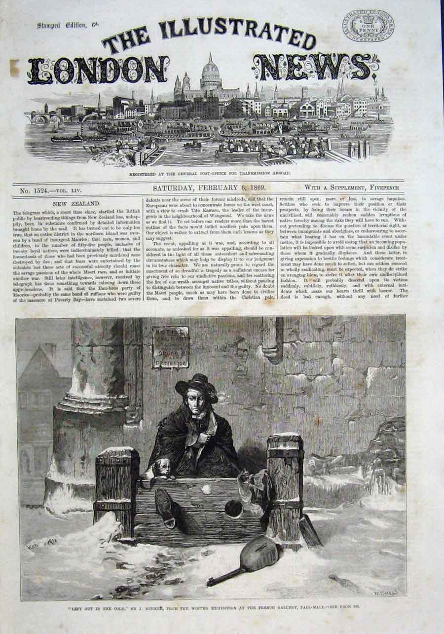 Print In The Stocks In The Cby Ritchie Fine Art 1869 26Aaa0 Old Original