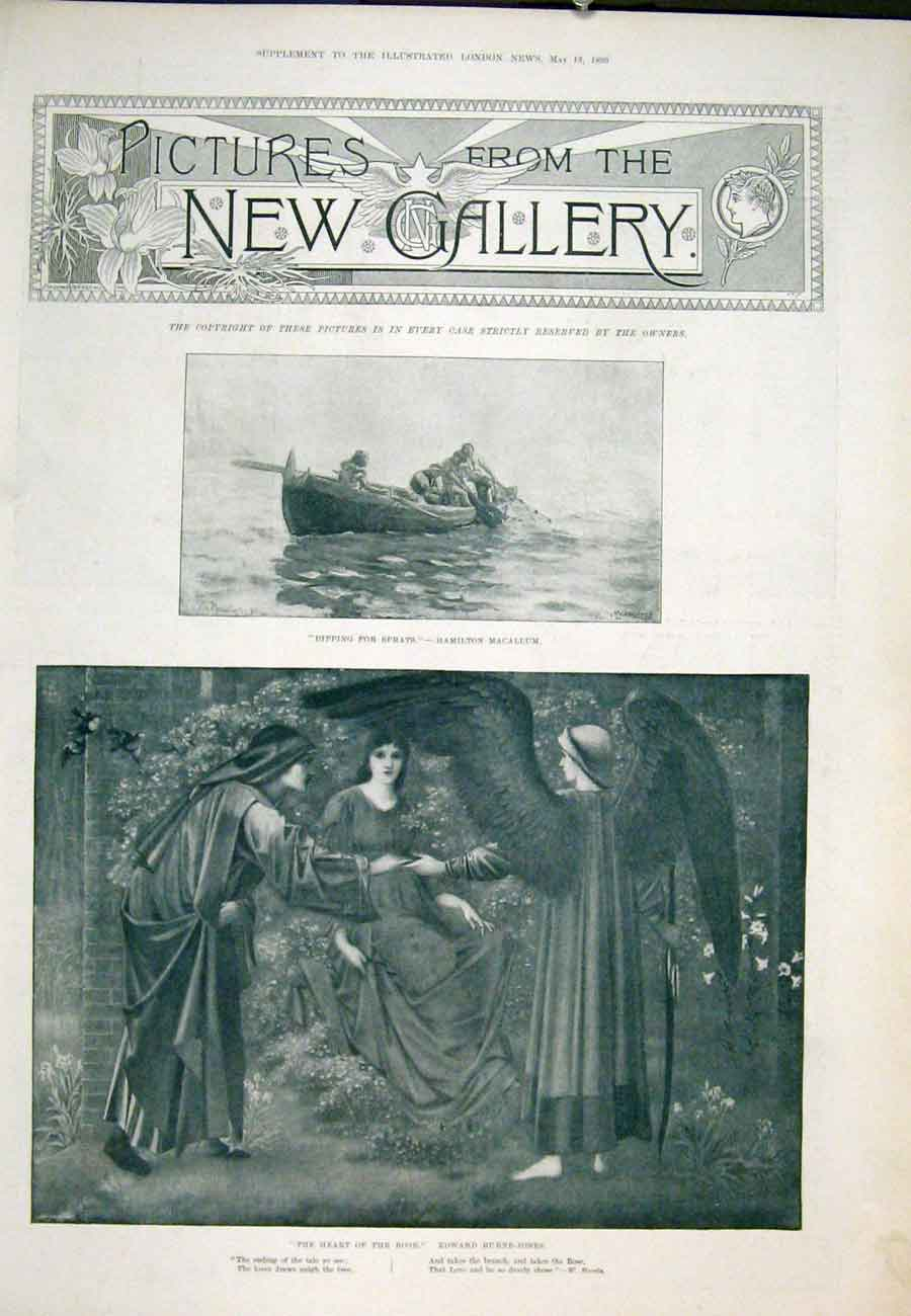 Print New Gallery Pictures Royal Academy 1893 61Aaaa0 Old Original