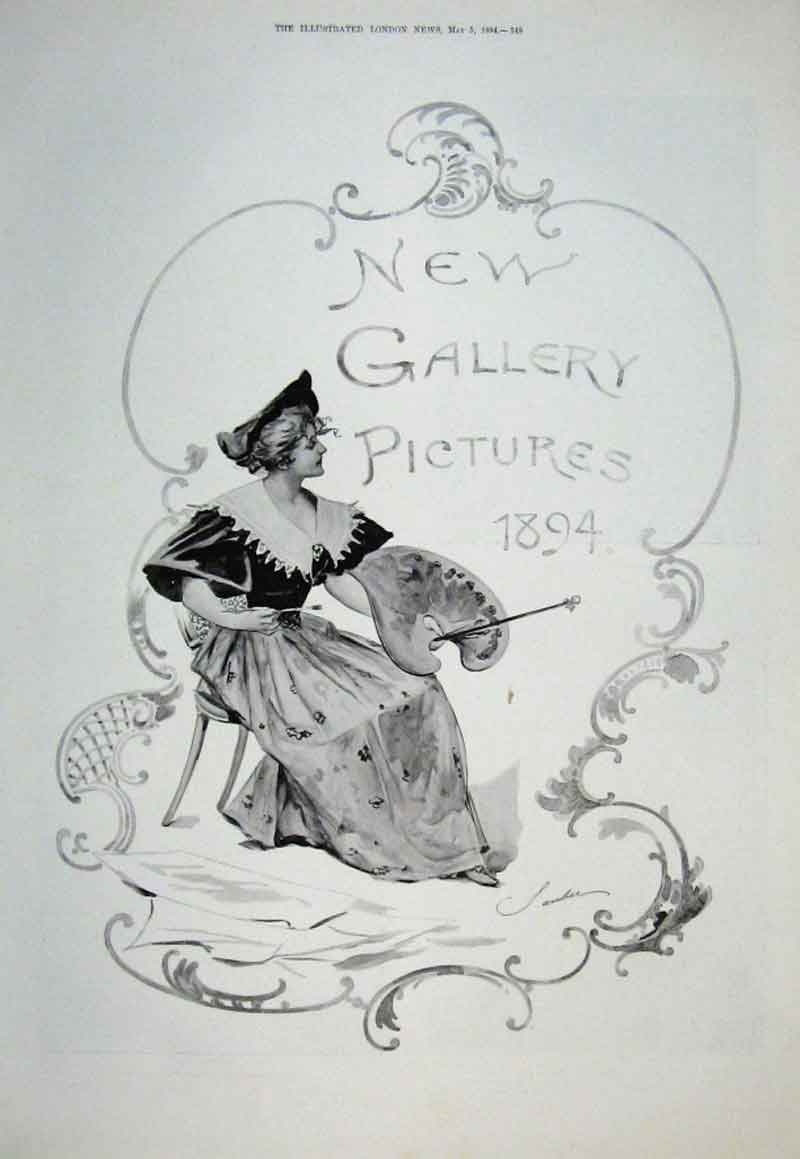 Print New Gallery Pictures 1894 40 Pictures 49Aaaa0 Old Original