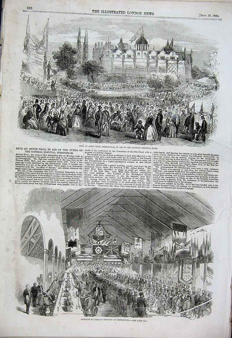 Print Rag & Secongd Hand Market Moscow 1856 Russia 26Aaa1 Old Original