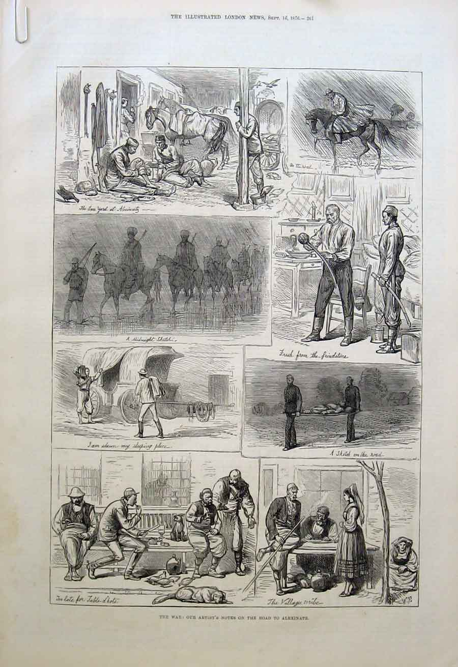 Print Valuables From Ivanitza Roll Call Volunteers 1876 W 61Aaaa1 Old Original
