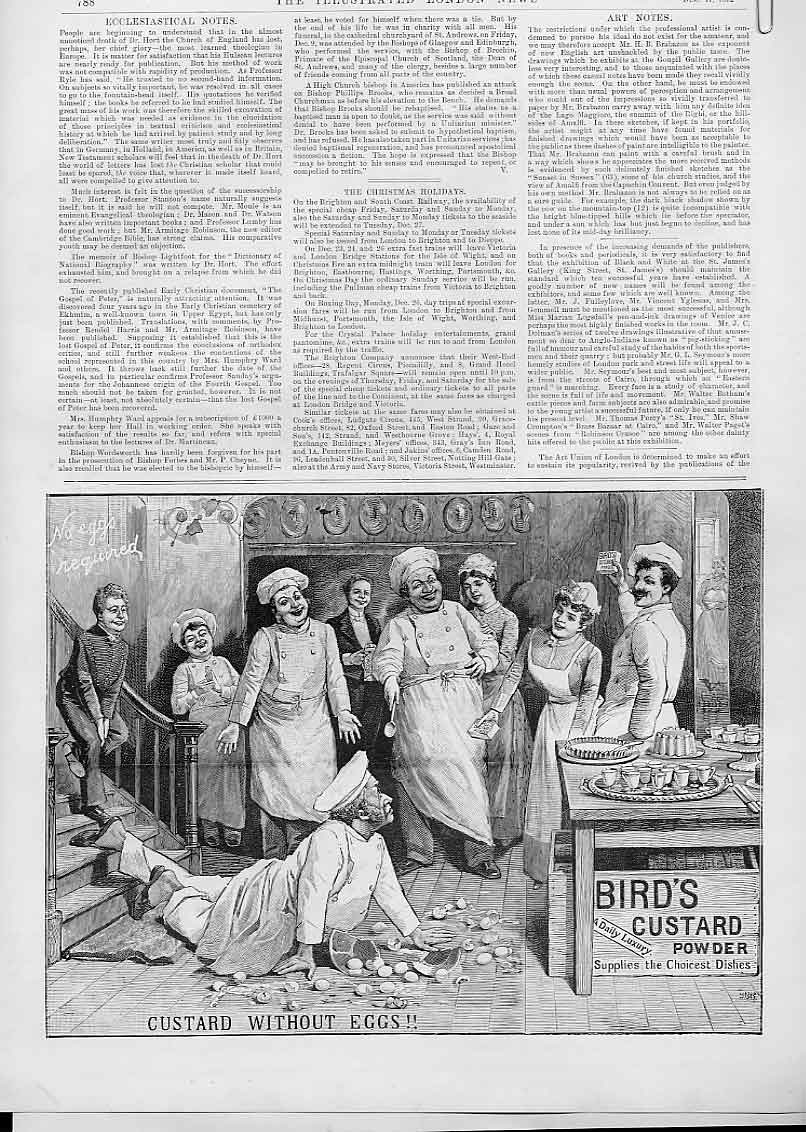 Original-Old-Antique-Print-Birds-Custard-Powder-Advertisment-1905-20th-Century thumbnail 2