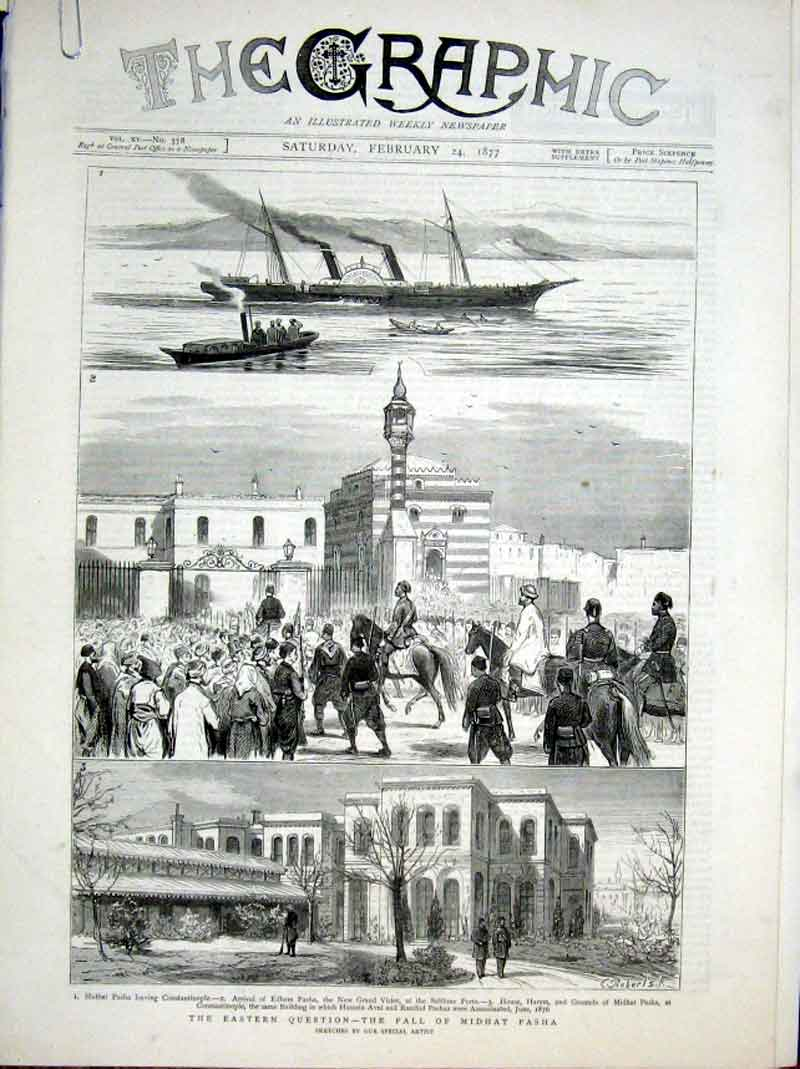 Print Christmas With The Turks 1877 War In East 32Abbb0 Old Original