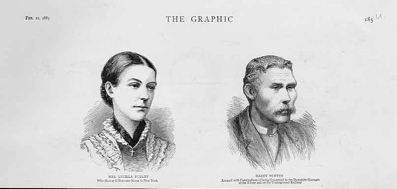 Print Portraits Mrs Lucilla Dudley Harry Burton 1885 85Ubbb0 Old Original