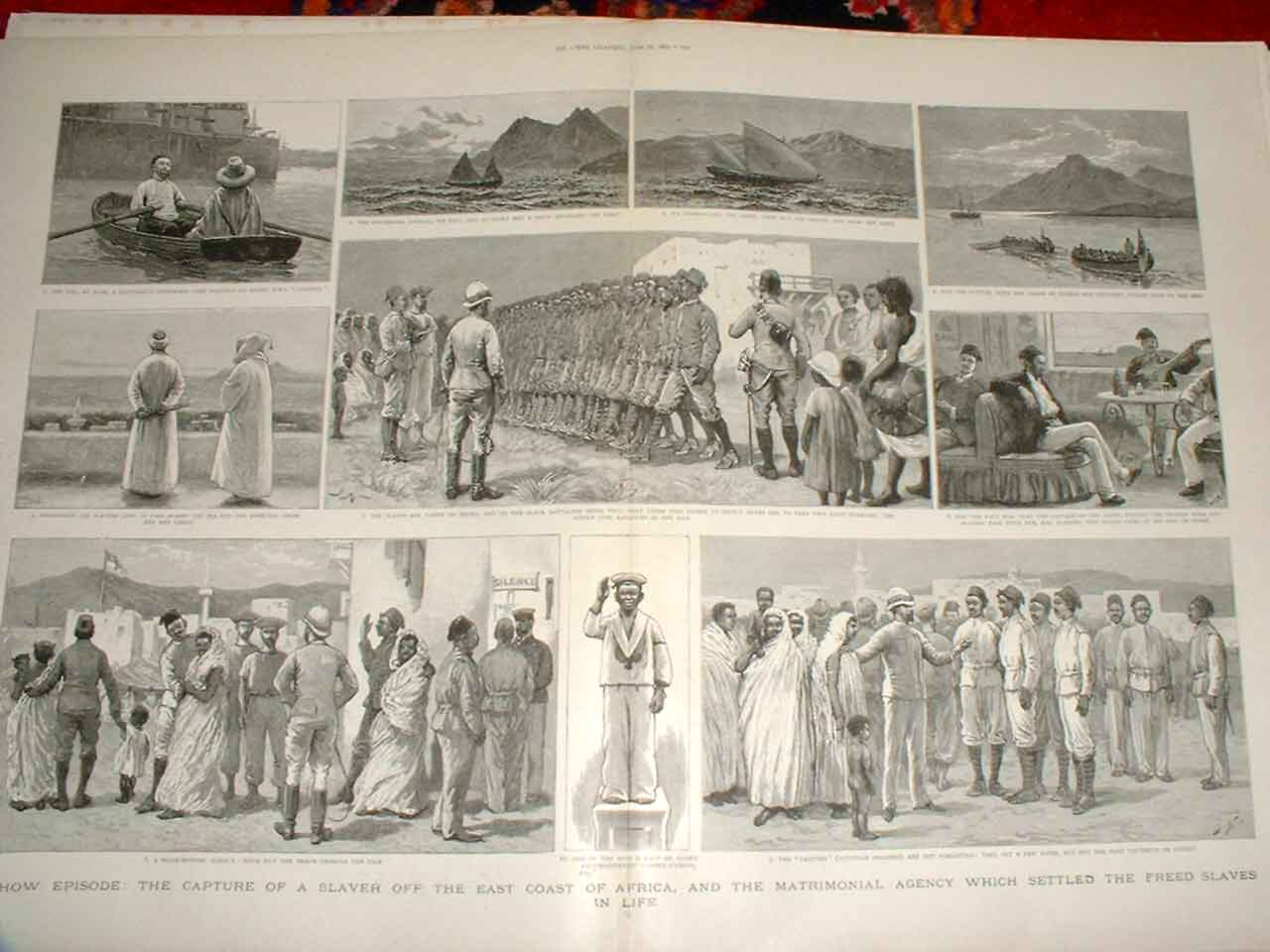 [Print Capture Slaver Africa & Matrimonial Agency For Slaves 57Tbbb0 Old Original]