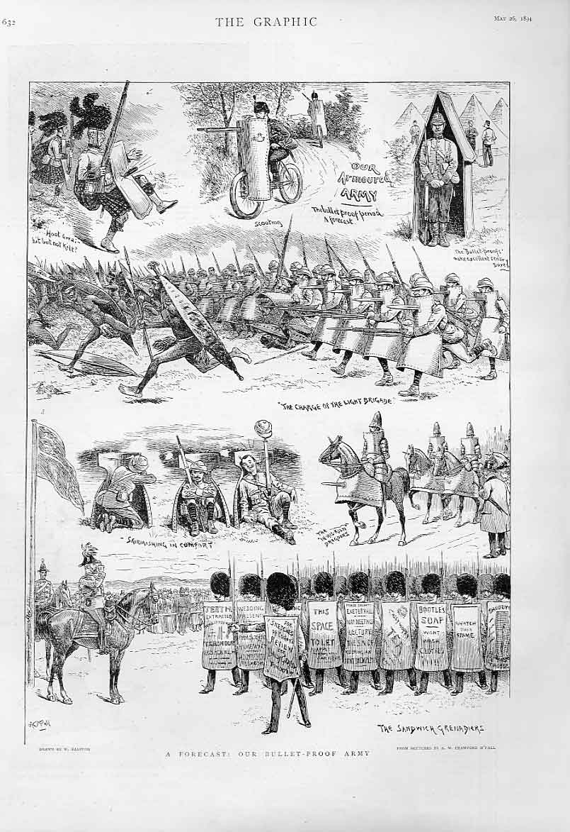 Print Our Bullet Proarmy 1894 32Bbb0 Old Original