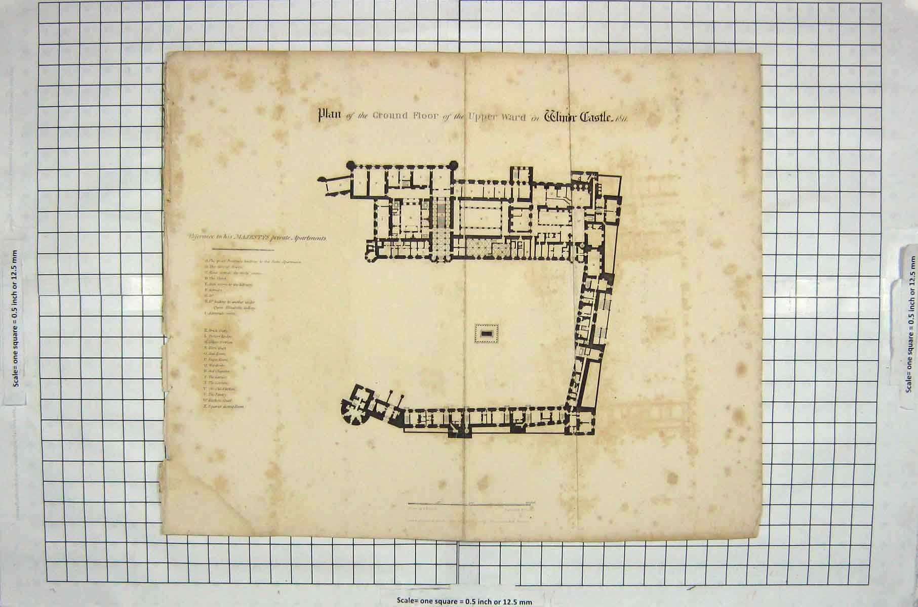 windsor castle floor plan www imgkid com the image kid unknown windsor castle ground floor plan by hope at 1stdibs