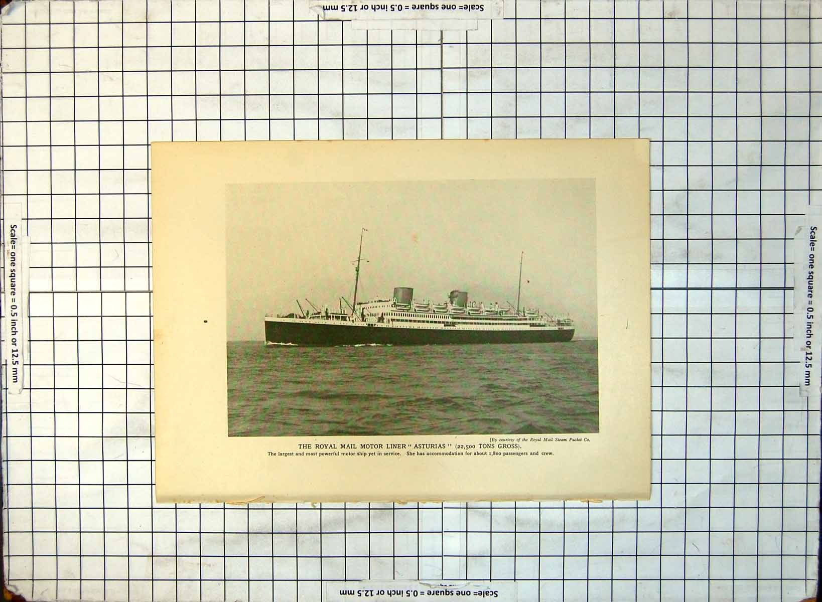 Old-Royal-Mail-Motor-Liner-Asturias-His-Majesty-039-S-Yacht-Britannia-406RG